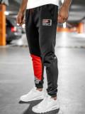 Pantaloni de trening negri Bolf K20003