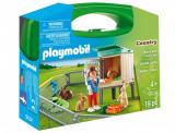 Set portabil Playmobil Country - Ferma iepurarilor (9104)