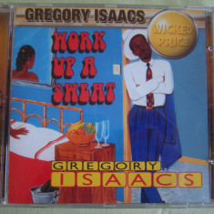 GREGORY ISAACS - Work Up A Sweat - C D Original ca NOU, CD