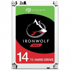 Hdd intern seagate 3.5 14tb ironwolf sata3 7200rpm 256mb
