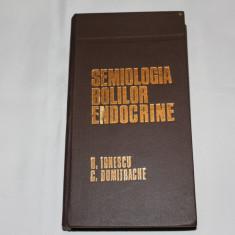 Semiologia Bolilor Endocrine - Barbu Ionescu/Constantin Dumitrache - 1983