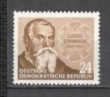 D.D.R.1953 400 ani moarte Lucas Cranach-pictor  MD.28