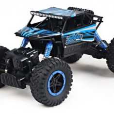 Masina NQD, 4WD Rock Crawler 1:18 2.4Ghz - Albastru