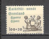 Groenlanda.1976 Sprijin ptr. sport  KB.201