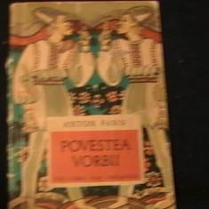 POVESTEA VORBII-ANTON PANN-