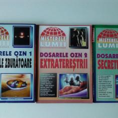 Dosarele OZN, volumele 1+2+3 , colectia Misterele lumii