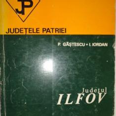 JUDETUL ILFOV /  COLECTIA JUDETELE PATRIEI CU HARTA