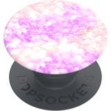 Suport stand PopSockets PopGrip Basic Morning Confetti roz pentru telefoane