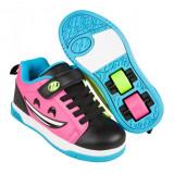 Cumpara ieftin Heelys Dual Up X2 Black/Hot Pink/Cyan/Yellow, 30 - 32, 34