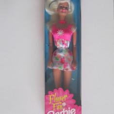 Papusa Barbie-Flower Fun-1996-Mattel 16063-NOU, Plastic