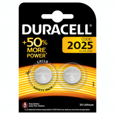 Baterie litiu Duracell CR2025 2 Baterii /Set
