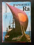 THOR HEYERDAHL - EXPEDITIILE RA (1973, editie cartonata)