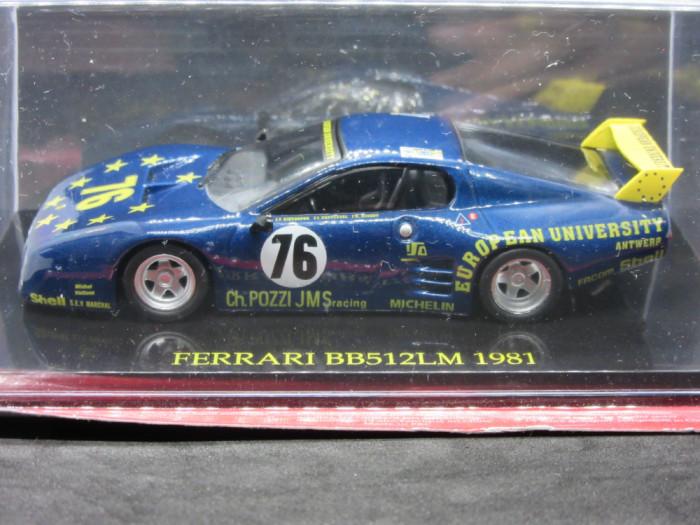 Macheta Ferrari BB 512 LM Altaya 1:43