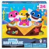 Puzzle de podea 24 piese - Baby Shark 61x46 cm, Spin Master