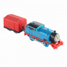 Locomotiva Thomas cu vagon - Thomas Trackmaster
