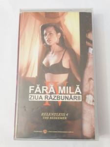 Caseta video VHS originala film tradus Ro - Fara Mila Ziua Razbunarii IV