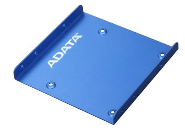 "Adaptor montare HDD / SSD 2.5"" in bay de 3.5"", ADATA, metal, albastru"