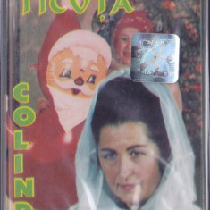Caseta audio - Elisabeta Ticuta - Colinde ( originala, SIGILATA ), Casete audio