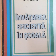 INVATAREA EFICIENTA IN SCOALA de NICOLAE CONSTANTIN MATEI , 1995