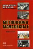 Cumpara ieftin Metodologii manageriale