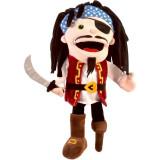 Marioneta de mana Pirat Fiesta Crafts, 28 x 28 cm, 3 ani+, Multicolor