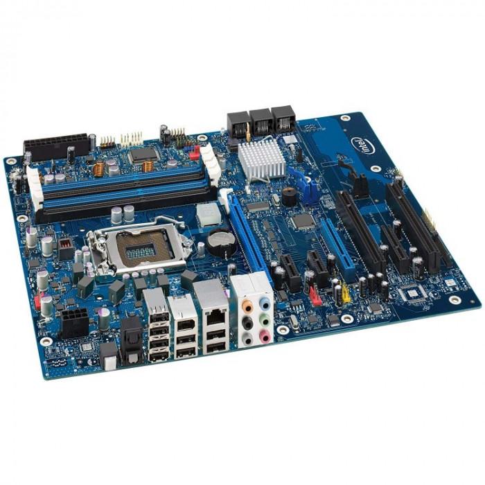 Placa de baza Intel DP55WG, Socket 1156, cu Shield