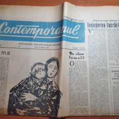 contemporanul 4 martie 1960-ziua femeii,expozitia regionala orasul stalin,brasov