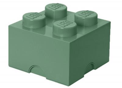 Cutie depozitare LEGO 2X2 verde nisip 40031747 foto