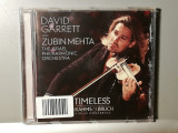 David Garrett - Timeless :Brahms/Bruch (2014/Decca/Germany) - CD ORIGINAL/Nou