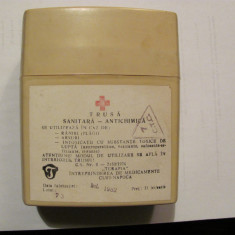 "CY - Cutie / ""Trusa Sanitara Antichimica"" goala / 1983 / TERAPIA Cluj - Napoca"