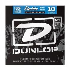 Corzi chitara electrica Dunlop Nickel Wound LH 10-52