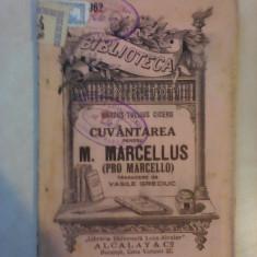 Cuvantarea pentru M. Marcellus - MARCUS TULLIUS CICERO , bpt 962