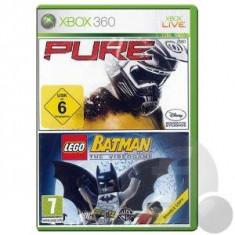 Pure + Lego Batman Double Pack XB360