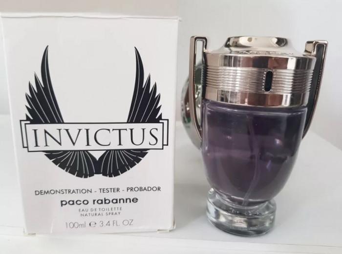 Tester Parfum Original Paco Rabanne Invictus Barbati