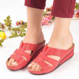 Papuci dama rosii Katie