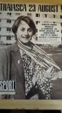 myh 112 - REVISTA SPORT - NR 8/ AUGUST 1980 - PIESA DE COLECTIE
