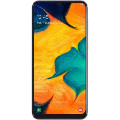Galaxy A30 Dual Sim 64GB LTE 4G Alb 4GB RAM foto