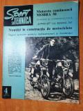 sport si tehnica aprilie 1970-salonul aviatic,jumbo-jet-ul,motociclete noi