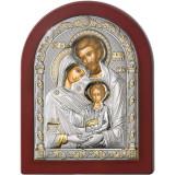 Cumpara ieftin Icoana Argint Familia Sfanta 12x16cm Auriu COD: 3176