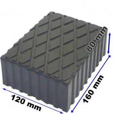 Tampon din cauciuc pentru elevator 120x160x80mm