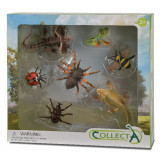 Set 7 Insecte Collecta, multicolor, 3 ani+