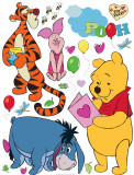 Sticker Winnie the Pooh si Prietenii - 65x85cm - DK861, AG