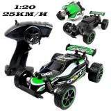 Masina de jucarie Mad Runner F1, cu telecomanda, verde