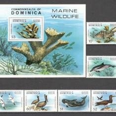 Dominica.1979 Animale din Caraibe  DD.290, Nestampilat