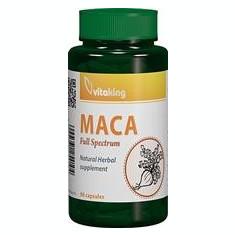 Maca 500mg Vitaking 90cps Cod: vk1603