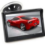 Display auto LCD 4.3″ D701 cu ventuza pentru parbriz