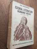 Cumpara ieftin MANUALE- GH.NEDIOGLU- IST.LIT.ROMANE VECHI + LIMBA ROMANA, 1942,CAPITOL AROMANI