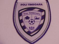 Fanion fotbal - POLI TIMISOARA foto