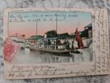 Salutari din Turnu Severin - Portul cu vaporul local., Circulata, Fotografie