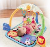 Cumpara ieftin Salteluta de activitati bebe cu sunete, lumini si animalte jucause